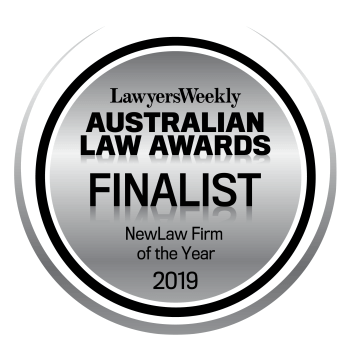 NewLaw Firm of the Year: Finalist – 2019 LW Australian Law Awards