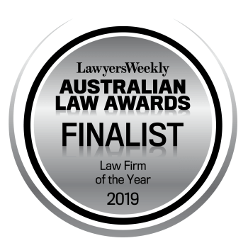Law Firm of the Year: Finalist - 2019 LW Australian Law Awards